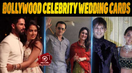 10 Popular Bollywood Celebrity Wedding Cards