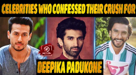 10 Popular Celebrities Who confessed Their Crush For Deepika Padukone