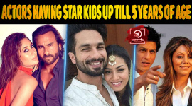 Top 10 Actors Having Star Kids Up Till 5 Years Of Age In Bollywood