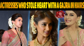 Top 10 Actresses Who Stole Heart With A Gajra In Hairs