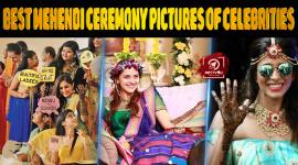 Top 10 Best Mehendi Ceremony Pictures Of Celebrities.