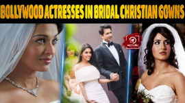 Top 10 Bollywood Actresses In Bridal Christian Gowns.