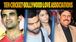 Top Ten Cricket-Bollywood Love Associations
