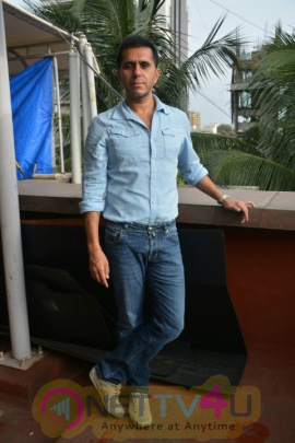 Ritesh Sidhwani And Mouni Roy Came To Ritesh Sidhwani Office Photos
