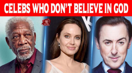 Celebs Who Don't Believe In God