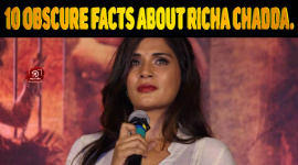 Top 10 Obscure Facts About Richa Chadda.