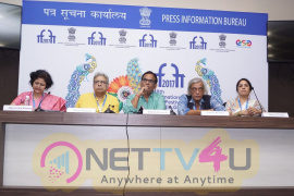 Satish Kaushik,Sudhir Mishra & Ranjit Kapoor At IFFI 17 Images