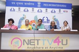 Satish Kaushik,Sudhir Mishra & Ranjit Kapoor At IFFI 17 Images