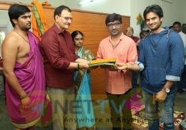 Sudheer Babu New Movie Pooja Photos Telugu Gallery
