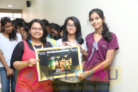 Unda Leda Movie Team At Roots College, Noise Pollution Awareness Campaign Stills Telugu Gallery