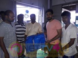 Actor Aari Helps To Delta Peoples Pics Tamil Gallery