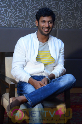 Actor Vishal Exclusive Interview Images Telugu Gallery