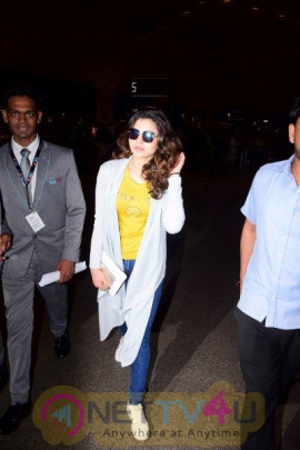 Urvashi Rautela Spotted At Airport  Hindi Gallery