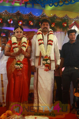Actor Soundar Rajan - Tamanna Wedding Pics