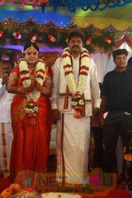 Actor Soundar Rajan - Tamanna Wedding Pics