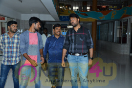 Tik Tik Tik Movie Team Spotted At Bhramaramba Theatre In Hyderabad Best Images