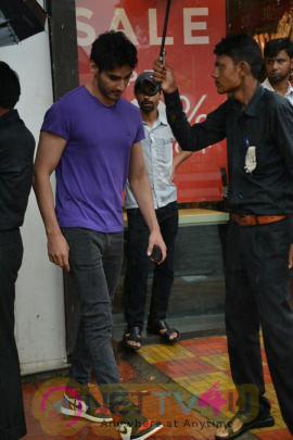Actor Ahaan Shetty Spotted At Bandra Stunning Images  Hindi Gallery