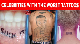 Celebrities With The Worst Tattoos