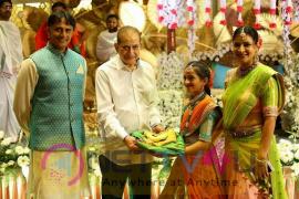 Mahesh Babu Nice Half Saree Function Photos Telugu Gallery