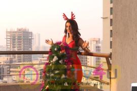 Actress Heena Panchal As Sexy Santa Christmas Photo Shoot Hindi Gallery