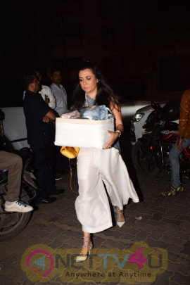 Celebrities  At Karan Johar Christmas Party Pics