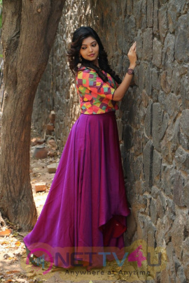 Actress Athulya Cute Images