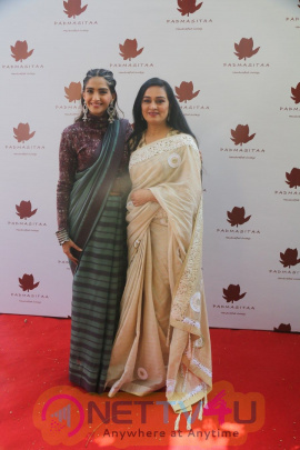 Special Event Of Padmasitaa,A Clothing Line Of Padmini Kolhapure And Sita Talwalkar In Riviera Garden Pics Hindi Gallery