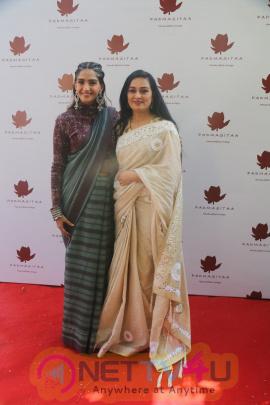 Special Event Of Padmasitaa,A Clothing Line Of Padmini Kolhapure And Sita Talwalkar In Riviera Garden Pics
