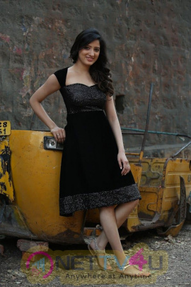 Actress Richa Panai Stunning Pics In Black Outfit  Telugu Gallery