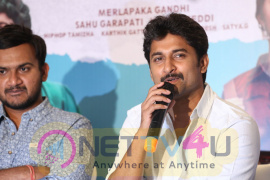 Krishnarjuna Yuddham Press Meet Photos