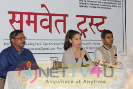 Press Conference With Manisha Koirala About Yoga And Protect You Against Disease Hindi Gallery