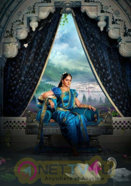 Stunning Poster And Photo Of Anushka In Baahubali 2 Telugu Gallery