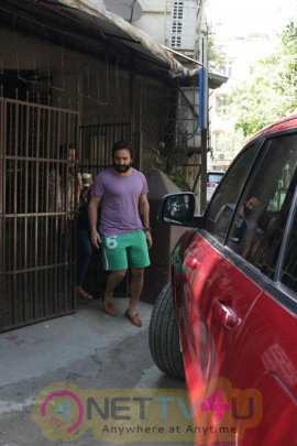 Saif Ali Khan Came To Purple Haze Recording Studio In Bandra Hindi Gallery