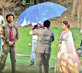 Darbar Movie Working Images