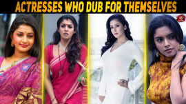Kollywood Actresses Who Dub For Themselves