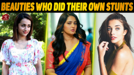 Kollywood Beauties Who Did Their Own Stunts