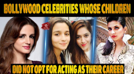 Bollywood Celebrities Whose Children Did Not Opt For Acting As Their Career!