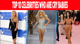 Top 10 Celebrities Who Are Cry Babies