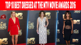 Top 10 Best Dressed At The MTV Movie Awards 2016