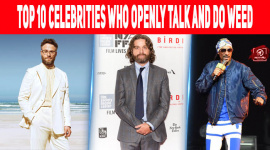 Top 10 Celebrities Who Openly Talk And Do Weed
