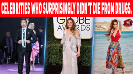 Top 10 Celebrities Who Surprisingly Didn't Die From Drugs.