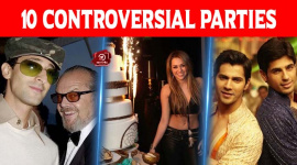 Top 10 Controversial Parties Of Bollywood And Hollywood Stars