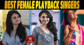 Top Ten Best Female Playback Singers In Kollywood