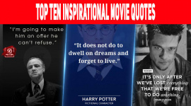 Top Ten Inspirational Movie Quotes
