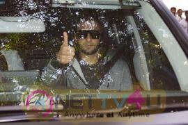 Ranveer Singh Spotted At Sunny Super Sound Stills