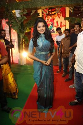 Actress Anupama Parameshwaran Images At Sathamanam Bhavathi Telugu Movie Audio Launch
