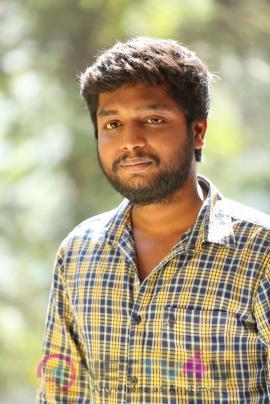 Chinnari Movie Music Director B. Ajaneesh Loknath Interview Photos Telugu Gallery