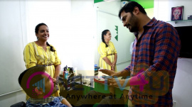 Agni Siragugal Movie Working Photos
