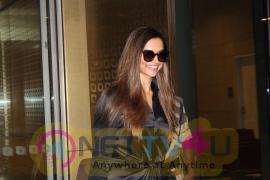 Actress Deepika Padukone Return Back In Mumbai Spotted At Airport Photos Hindi Gallery