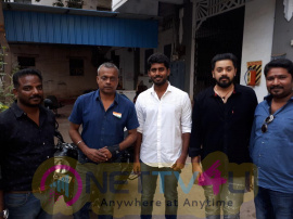 Shatru Movie Poster Launch Pics
